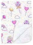 Непромокаемая пеленка многоразовая Конфетки - #17. Фото 9