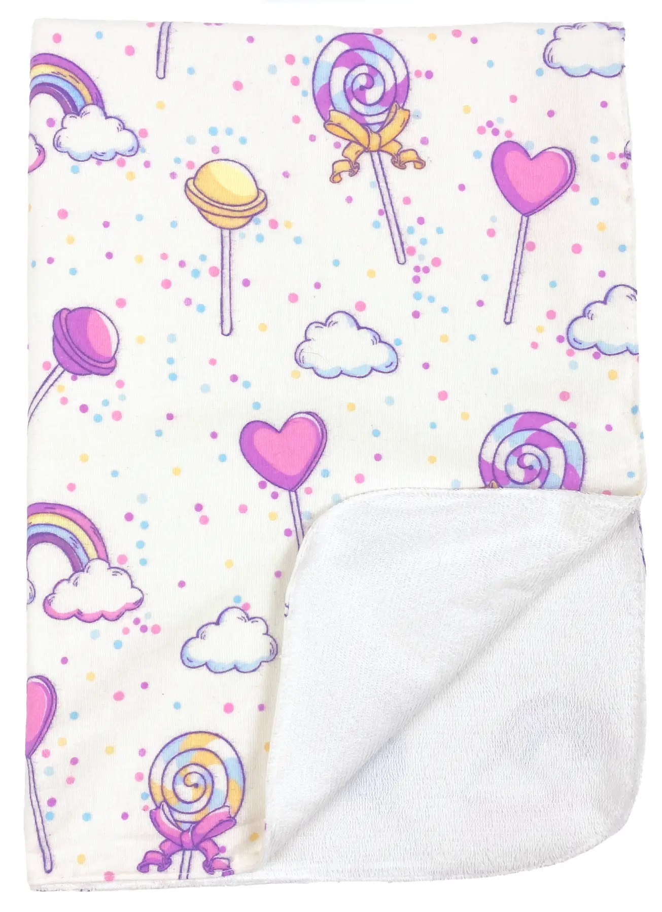 Непромокаемая пеленка многоразовая Конфетки - #17. Фото 2