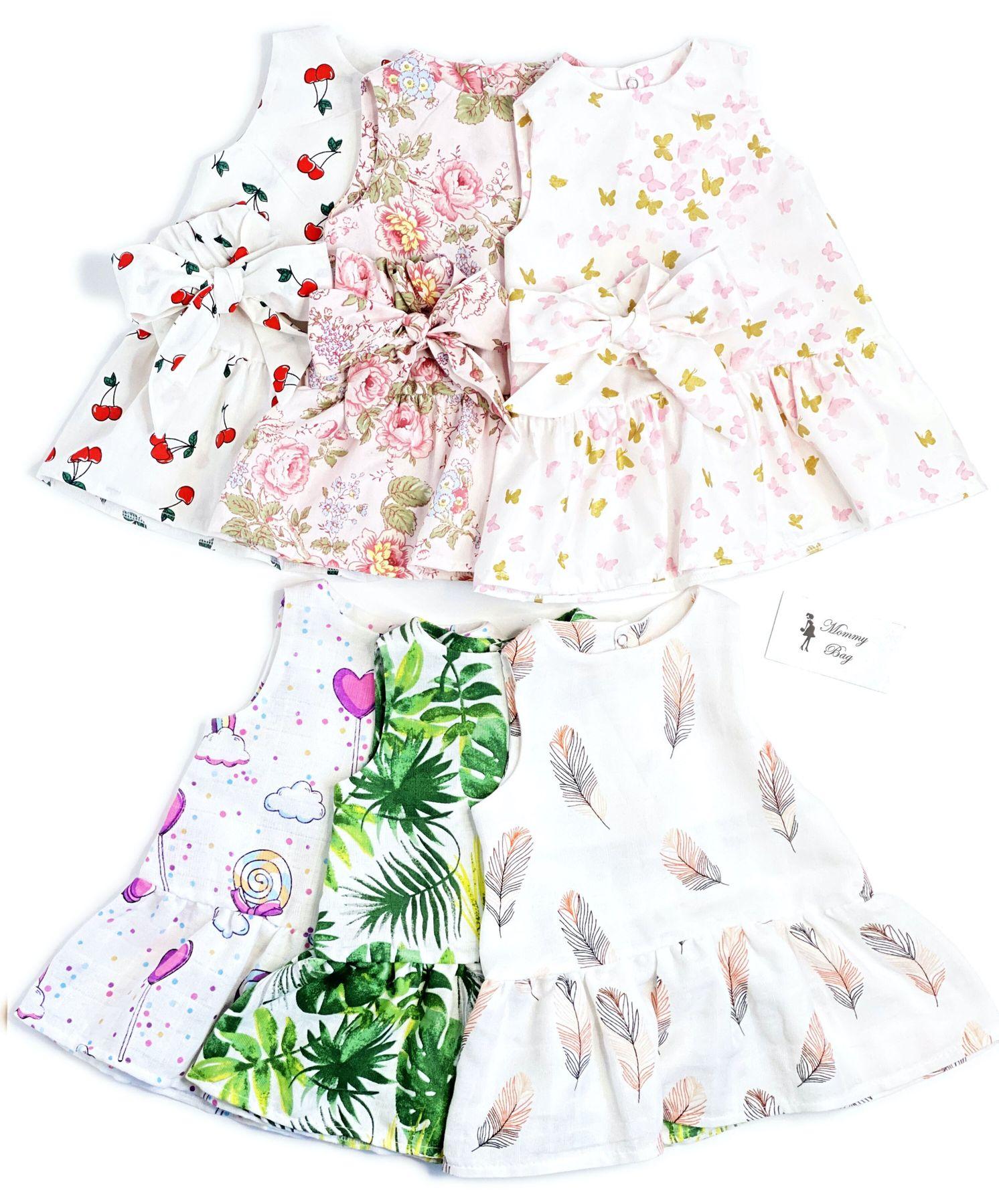 Муслиновое платье RoyalBaby Тропик р.62, 0-6 мес. Зображення 2