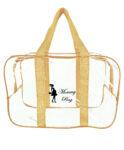 Набір з прозорих сумок в пологовий будинок Mommy Bag, колір сумки - Бежевий. Зображення 26
