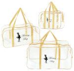 Набір з прозорих сумок в пологовий будинок Mommy Bag, колір сумки - Бежевий. Зображення 29