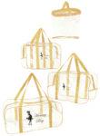 Набір з прозорих сумок в пологовий будинок Mommy Bag, колір сумки - Бежевий. Зображення 28
