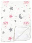 Непромокаемая пеленка многоразовая Луна и розовые звездочки - #18. Фото 7